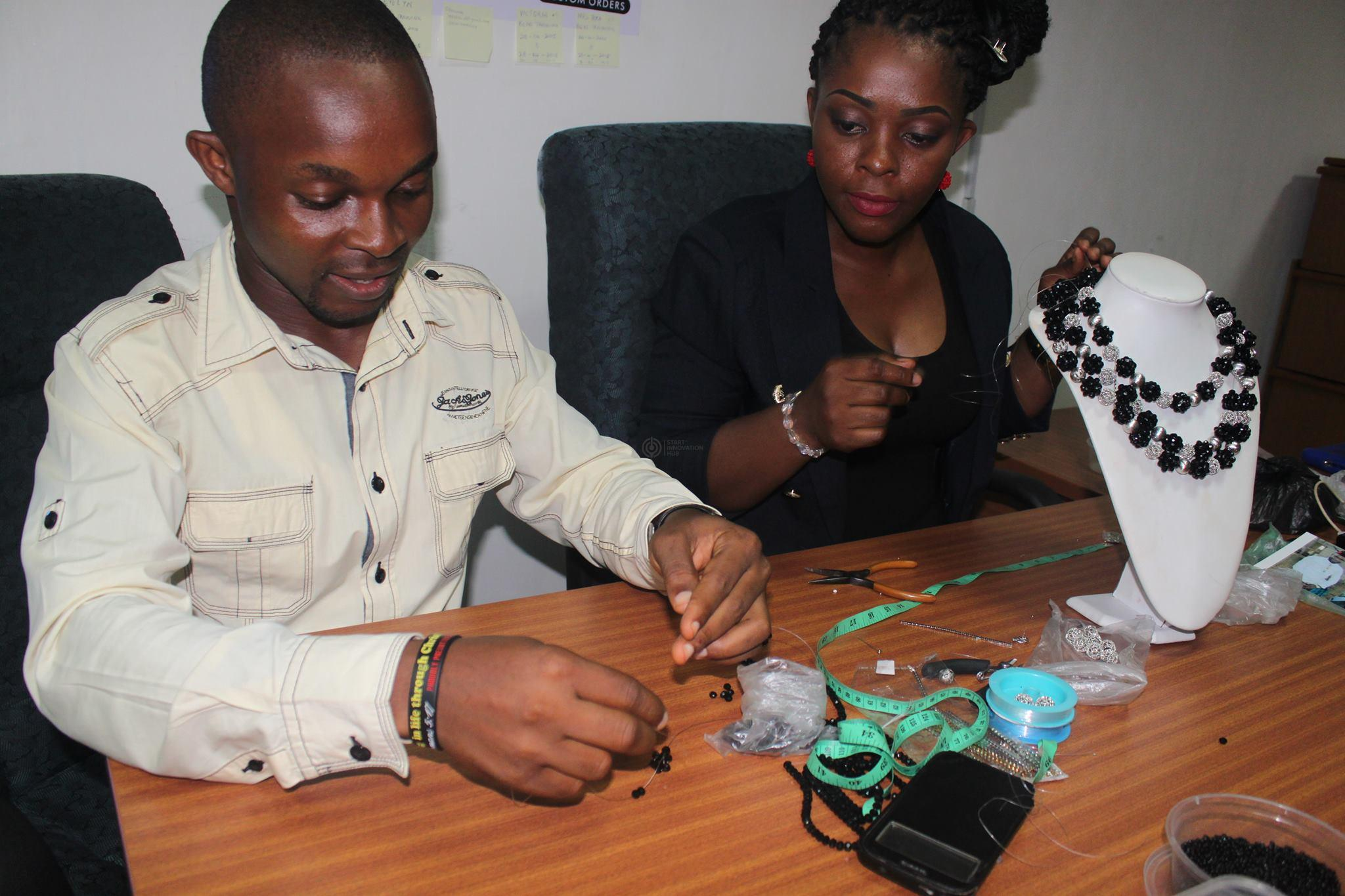 Dache Pearls Tutoring Start Hub CEO on Bead making