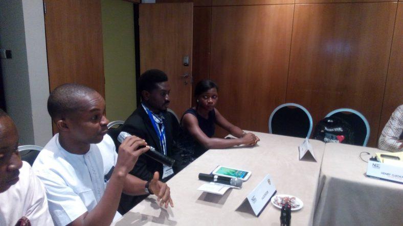 Start Innovation Hub CEO Addressing NCC Delegates