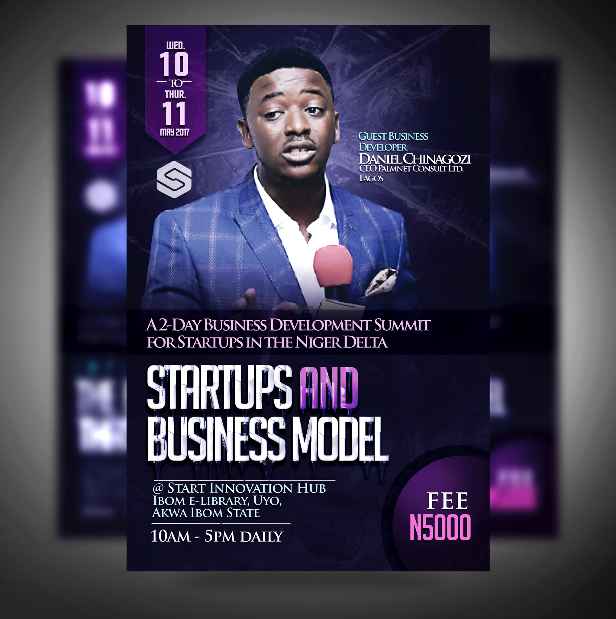 Event: Startups and Business Model with Daniel Chinagozi