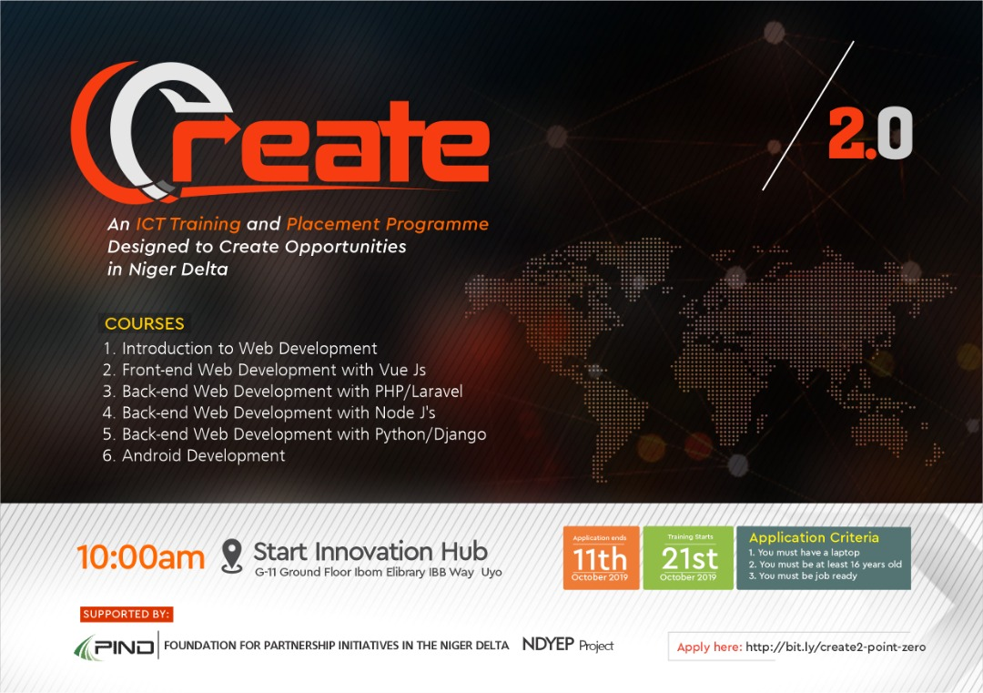 Why You Should Apply Now for a Slot in Project CREATE 2.0 First 90, at Start Innovation Hub